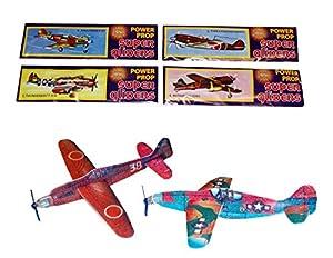 Box of 48 Flying Gilder Plane Kits [Toy]
