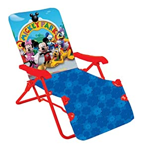 Amazon com kids only mickey mouse clubhouse lounge chair toys