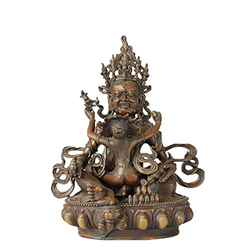Top Bronze Religion Figure King Kong/Kong Kim Sculpture Buddha Decor Brass Statue TPFX-020