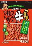 ゴン太のうま味牛とつぶつぶ軟骨入りジャーキー 緑黄色野菜入り 420g