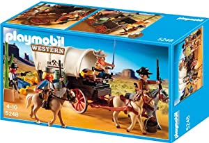 Playmobil Oeste - Caravana con bandidos (5248)