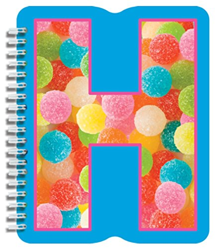 iscream Letter H Shaped Initial Notebook - 1