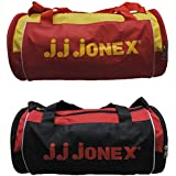 JJ Jonex Polyester 22 Cms Multi-Colour Soft Sided Gym Bags (Combo Pack Of 2 )
