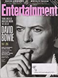 Entertainment Weekly January 22, 2016 David Bowie 1947-2016