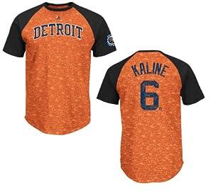 Detroit Tigers Al Kaline Cooperstown Retro Show Raglan T-Shirt by VF