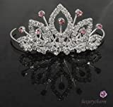 NEW GIRLS FAIRY PRINCESS TIARA PARTY COSTUME CROWN T21