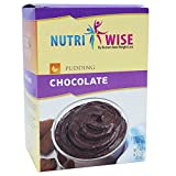 NutriWise - High Protein Diet Pudding | Chocolate | Low Calorie, Low Fat, Sugar Free (7/Box)