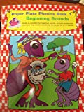 img - for Paper Plate Phonics Book 1...beginning Sounds book / textbook / text book