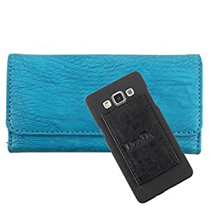 DooDa PU Leather Wallet Flip Case Cover With Card & ID Slots For LG G3