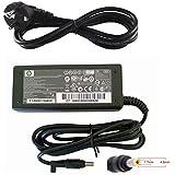 65W HP Adaptateur Chargeur Original pour Ordinateur Portable pour HP Compaq 18.5V 3.5A d'alimentation, compatible avec DC359A 417220-001 402018-001