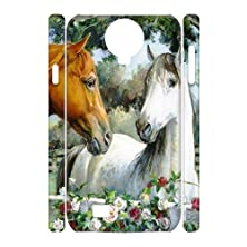 buy Diy Running Horse Phone Case For Samsung Galaxy S4 3D Shell Phone Jflife(Tm) [Pattern-1]