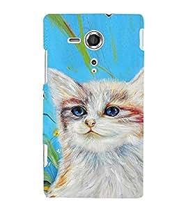 EPICCASE art cat Mobile Back Case Cover For Sony Xperia SP (Designer Case)