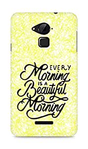 AMEZ every morning is a beautiful morning Back Cover For Coolpad Note 3