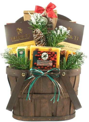 Merry and Married! Newlywed Christmas Gift Basket