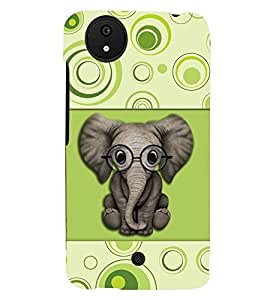 printtech Elephant 'Baby Back Case Cover for Micromax Android A1::Micromax Canvas A1 AQ4502