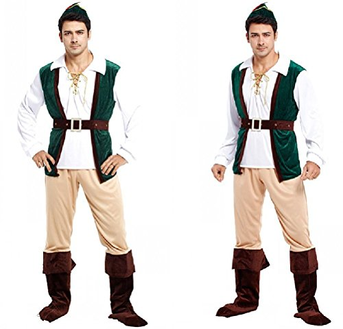 Ponce Halloween Cosplay Costumes Adult Male Knight Primitive