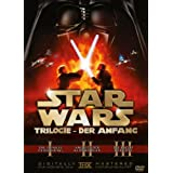 "Star Wars Trilogie: Der Anfang - Episode I-III [3 DVDs]von ""Christopher Lee"""