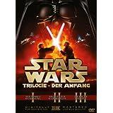 """Star Wars Trilogie: Der Anfang - Episode I-III [3 DVDs]von """"Christopher Lee"""""""