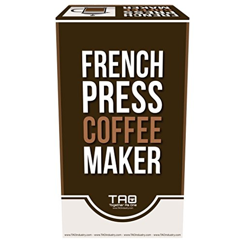 High End French Press Coffee Maker : French Press - High Premium Coffee Tea & Espresso Maker with 34-Ounce Heat Resistant Glass ...