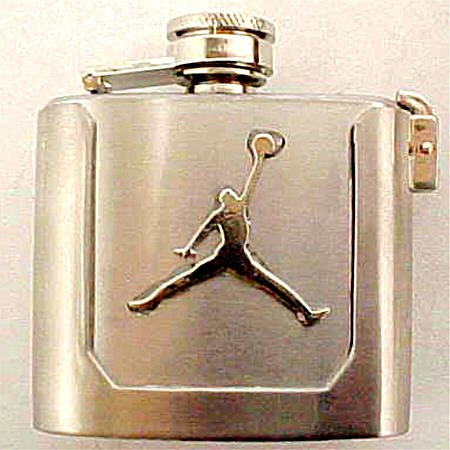 Buy Air Jordan Jumpman Logo Flask Belt Buckle Bling