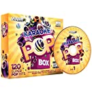 Zoom Karaoke Pop Box Party Pack - 6 CD+G Box Set - 120 Songs