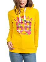 JACK WILLIAMS Sudadera con Capucha (Amarillo)