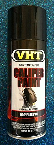 Duplicolor High Temp Brake Caliper Drum Paint, Vht Gloss Black, Pt# Sp734, Sp 734
