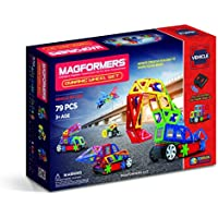 Magformers 79-Piece Vehicles Dynamic Wheel Set