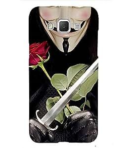 Devil and Roses 3D Hard Polycarbonate Designer Back Case Cover for Samsung Galaxy Grand 3