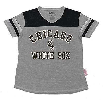 MLB Girl's V-Neck Jersey Shirt
