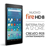 Nuovo tablet Fire HD 8, il tablet di Amazon per l'intrattenimento - immagine 1