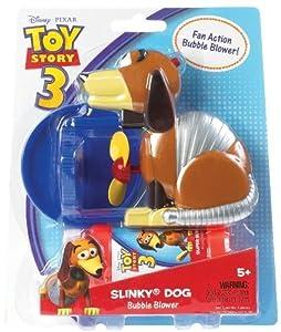 POOF-Slinky Model #2260 Disney Pixar Toy Story Bubble Blower Slinky Dog, Single Item by Slinky (English Manual)