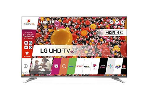 LG 43UH750V 43 inch Ultra HD 4K Smart TV webOS (2016 Model) - Grey