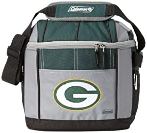 NFL Green Bay Packers 24 Can Soft Sided Carry Coleman Cooler