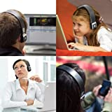 GOgroove AirBand Bluetooth Stereo Headphones w/ Headset Microphone + A2DP & AVRCP profiles for Wireless Music Streaming and Hands-Free Calling for the latest Smartphones & Cellphones