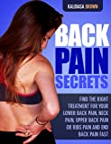 img - for Back Pain Secrets book / textbook / text book