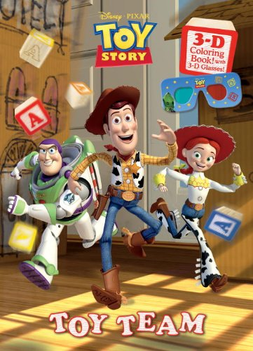 Toy Team (Disney/Pixar Toy Story) (3-D Book)