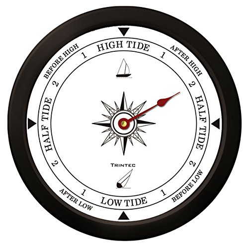 Trintec Atlantic Tide Indicator Wall Clock 14″ (White Dial) ATW-14