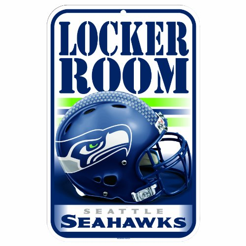 NFL Seattle Seahawks 11-by-17-Inch Sign