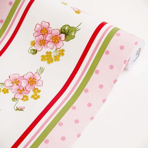 Flowing Flower - Self-Adhesive Wallpaper Home Decor(Sample)