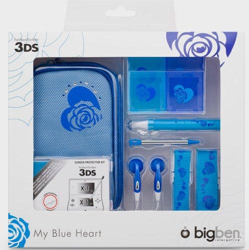 Nintendo 3DS - Zubehör-Set My Heart Blue