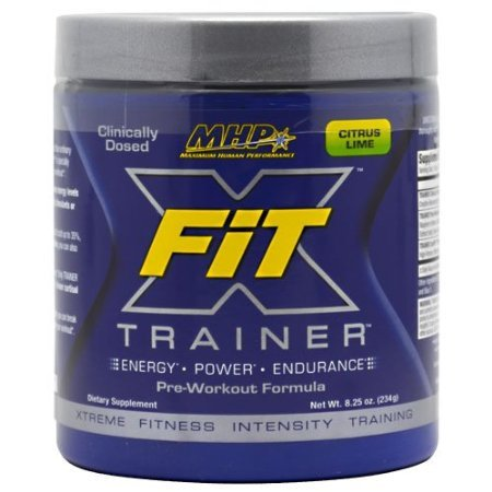 Xfit Trainer, Citrus Lime, 8.25 Oz. From Mhp