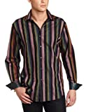 514nCbwIvbL. SL160  Robert Graham Mens Crossbones Striped Jacquard