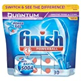 Finish Quantum Powerball Tablets with Baking Soda 2x30 per pack