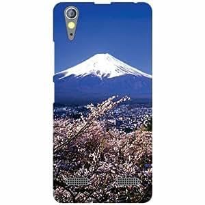 Lenovo A6000 Plus Back Cover - Nature Designer Cases