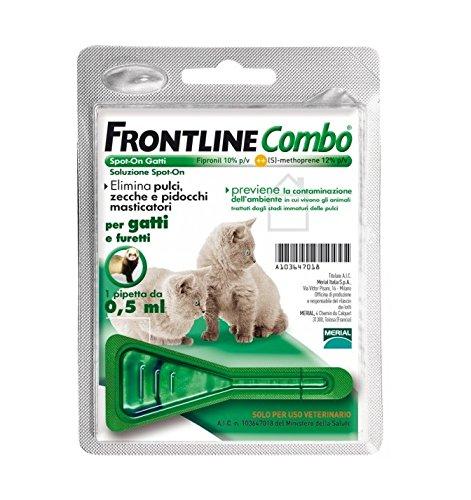 Frontline Combo Gattino (1 pipetta) - Antiparassitario soluzione spot-on per cuccioli di gatto