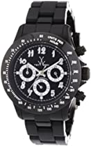 Toy Watch Flash Chronograph Black Plasteramic Unisex Watch TB03