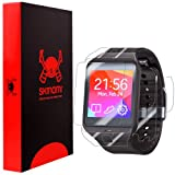 Skinomi® TechSkin - Samsung Galaxy Gear 2 Neo Screen Protector + Full Body Skin Protector with Lifetime Replacement Warranty / Front & Back Premium HD Clear Film / Ultra High Definition Invisible and Anti-Bubble Crystal Shield - Retail Packaging