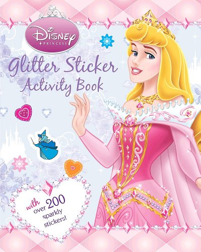 Disney Princess Glitter Sticker (Disney Glitter Sticker)
