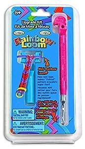 Rainbow Loom Metal Hook Tool Upgrade Kit with Anti Counterfeit Code (Pink)
